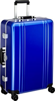 Zero Halliburton Classic Polycarbonate 26 inch 4 Wheel Spinner Travel Case Blue - Zero Halliburton Hardside Checked