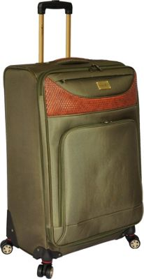 Caribbean Joe Castaway 28 inch Exp. Spinner Olive - Caribbean Joe Softside Checked