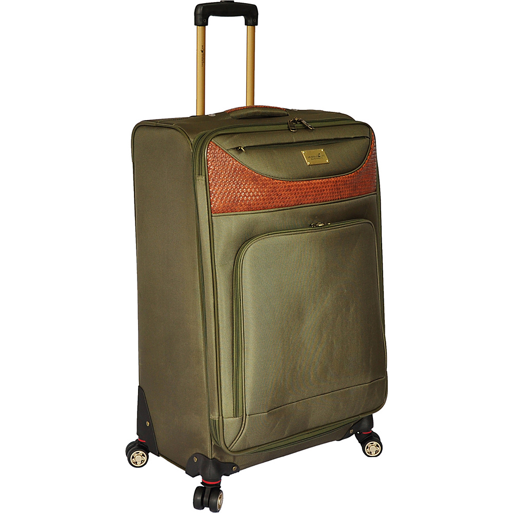 "Caribbean Joe Castaway 28"" Exp. Spinner Olive - Caribbean Joe Softside Checked"