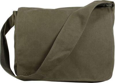 Parson Gray for Kalencom Privateer Satchel Olive - Parson Gray for Kalencom Messenger Bags