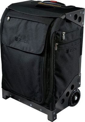 ZUCA Flyer Artist Black/Black Frame Black - Black Frame - ZUCA Softside Carry-On