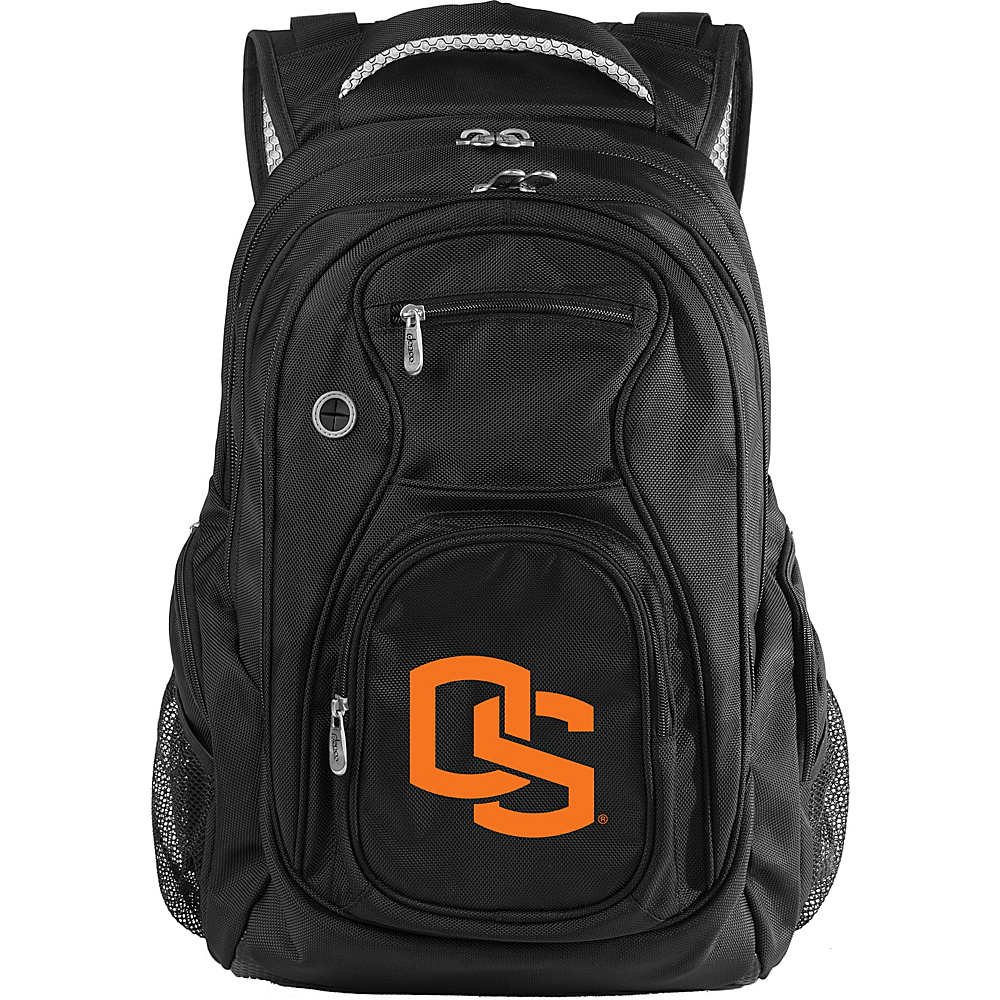 Denco Sports Luggage NCAA Oregon State University Beavers 19 Laptop Backpack Black - Denco Sports Luggage Laptop Backpacks - Backpacks, Laptop Backpacks