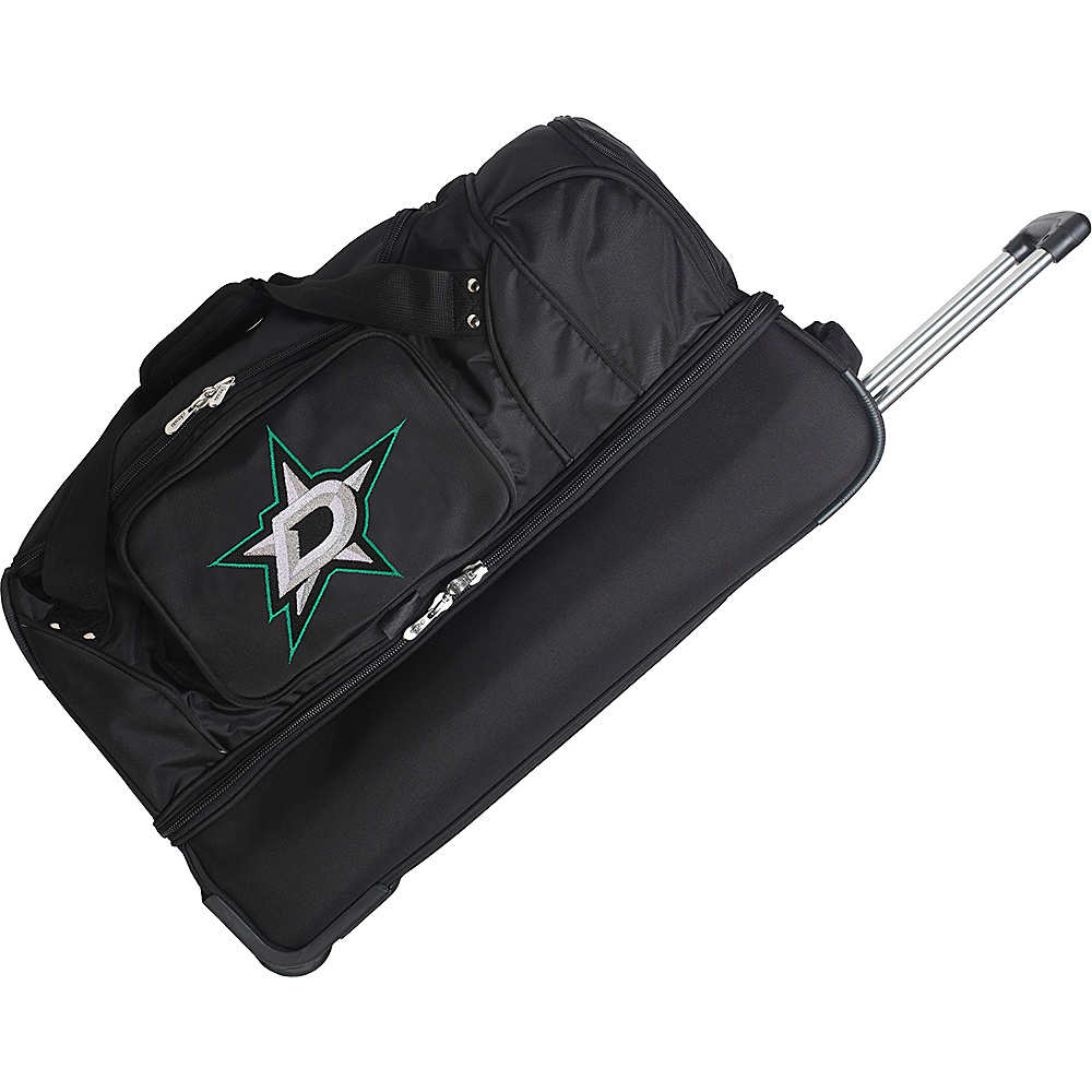Denco Sports Luggage Dallas Stars 27 Rolling Duffel - - Duffels, Travel Duffels
