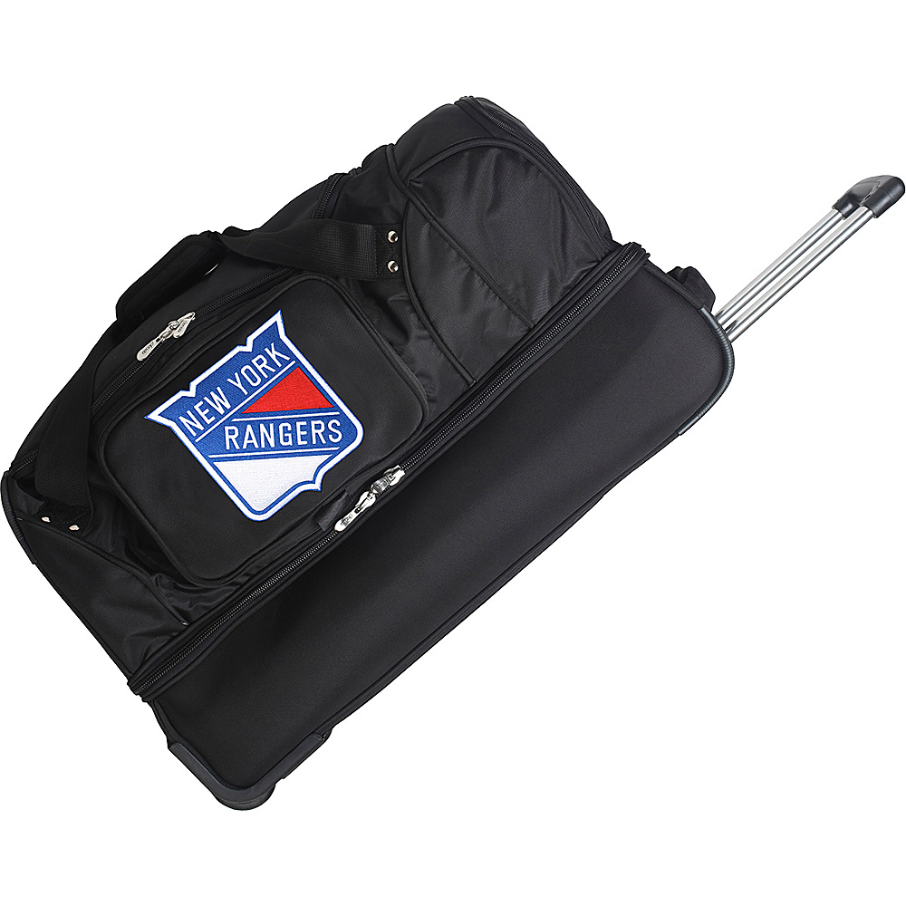 Denco Sports Luggage New York Rangers 27 Rolling - Duffels, Travel Duffels
