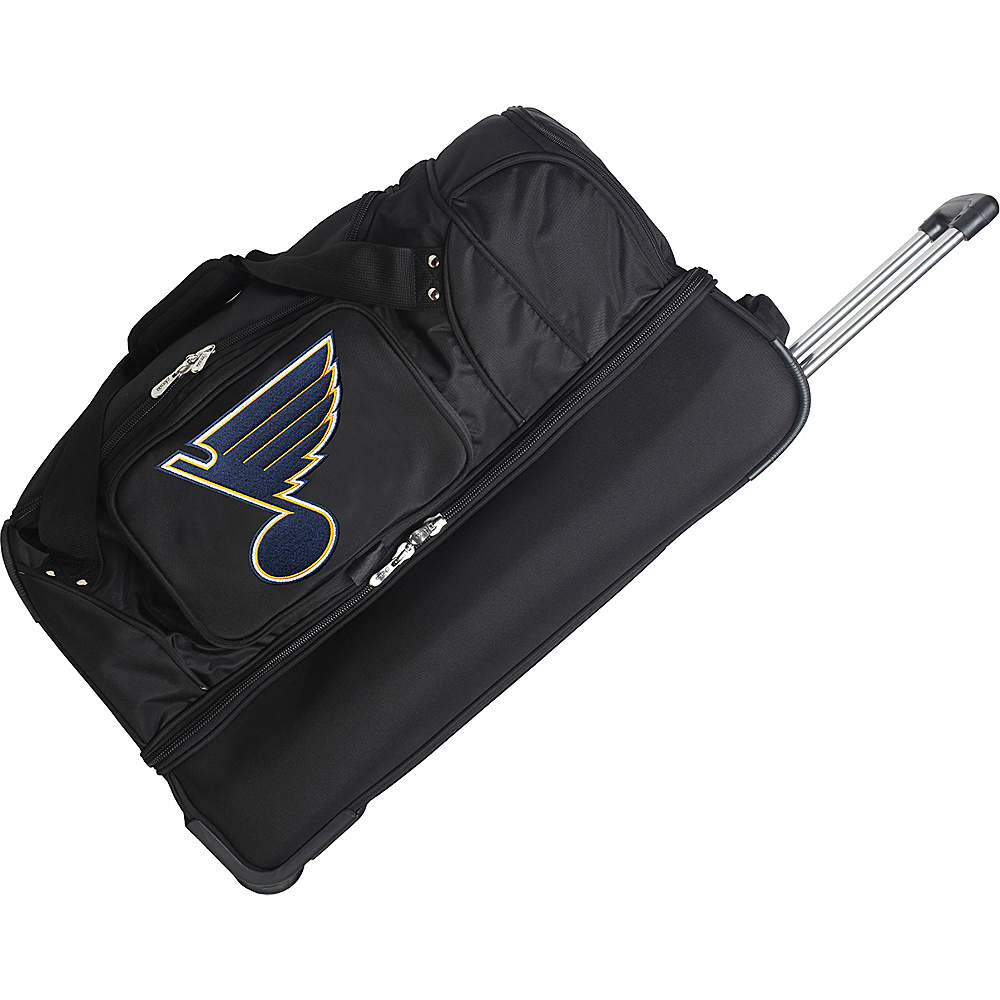 Denco Sports Luggage St. Louis Blues 27 Rolling Duffel - Duffels, Travel Duffels
