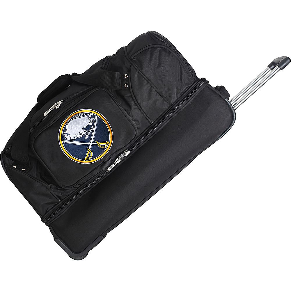 Denco Sports Luggage NHL 27 Drop Bottom Wheeled Duffel Bag Buffalo Sabres - Denco Sports Luggage Travel Duffels - Duffels, Travel Duffels