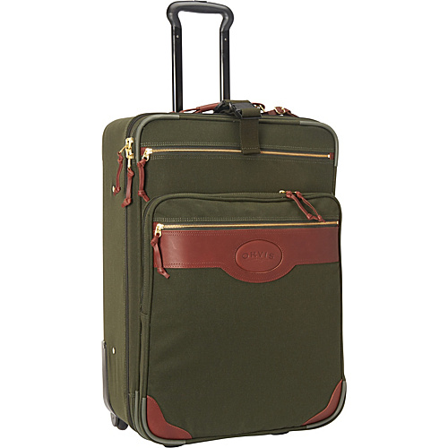 Orvis Battenkill Expandable Rollacase Green/Brown. - Orvis Large Rolling Luggage