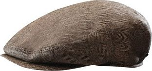 Stetson Bandera Silk/Cashmere Cap XXL - Brown - Stetson Hats/Gloves/Scarves