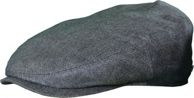 Stetson Bandera Silk/Cashmere Cap XL - Grey - Stetson Hats/Gloves/Scarves
