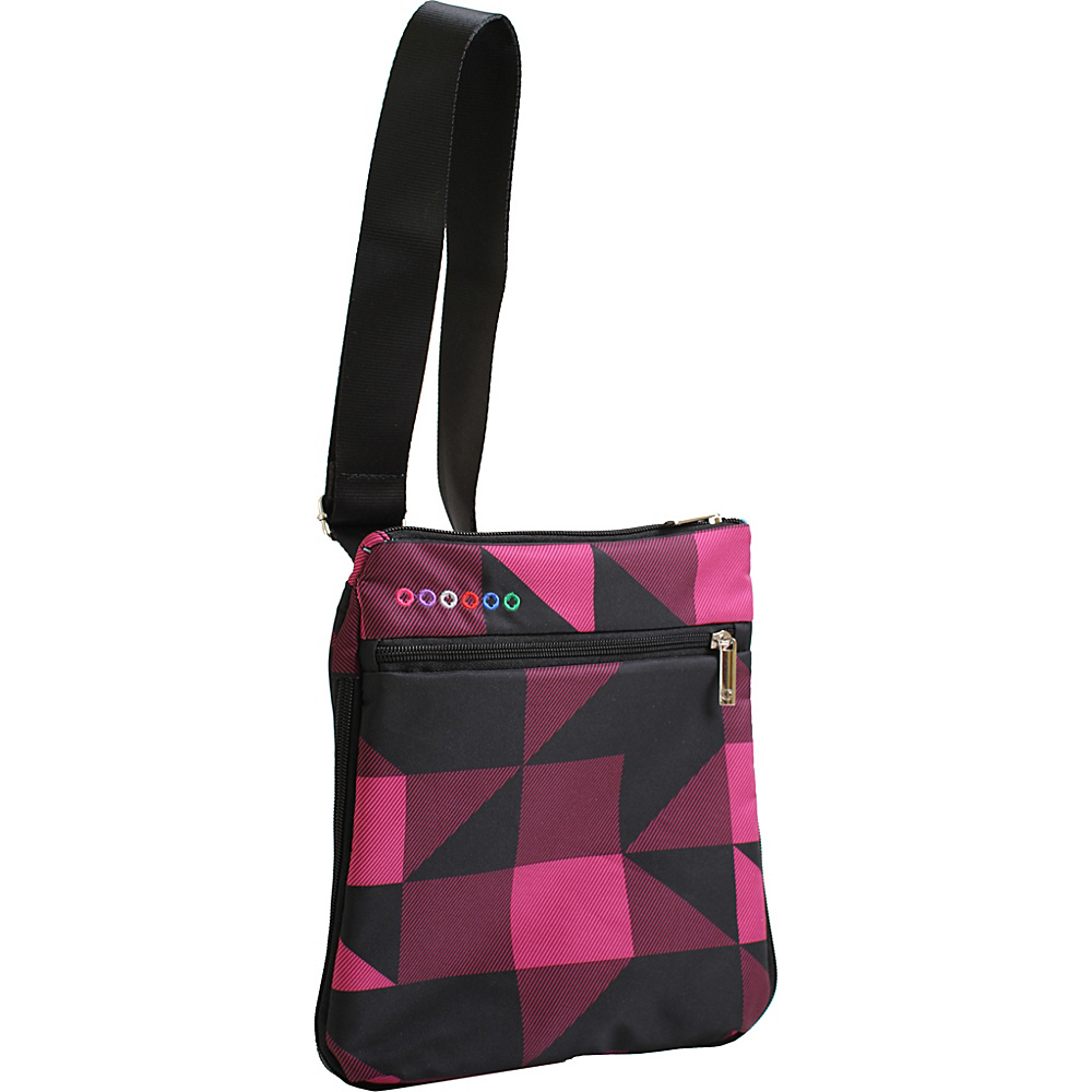 J World New York Posh Crossbody Block Pink - J World New York Manmade Handbags - Handbags, Manmade Handbags