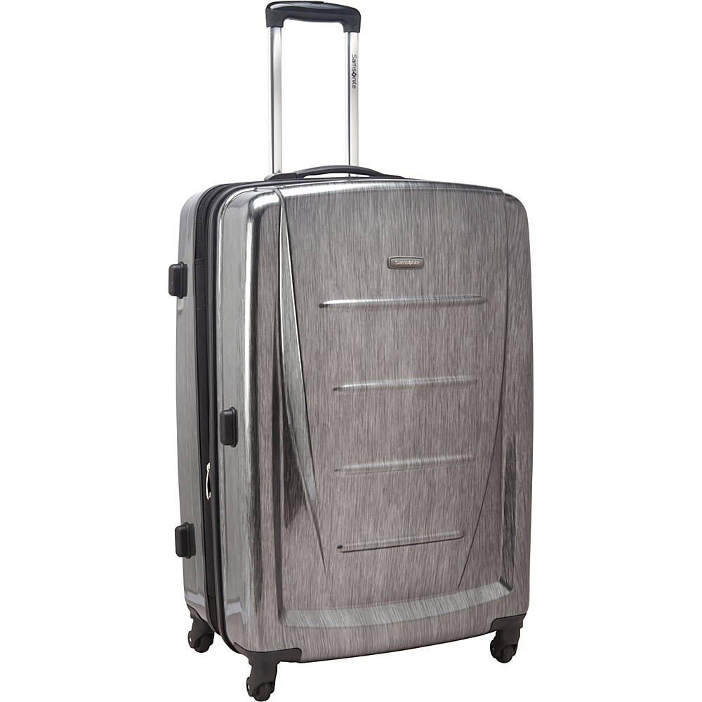 "Samsonite Winfield 2 Fashion Hardside Spinner Luggage - 28"" Charcoal - Samsonite Hardside Checked"