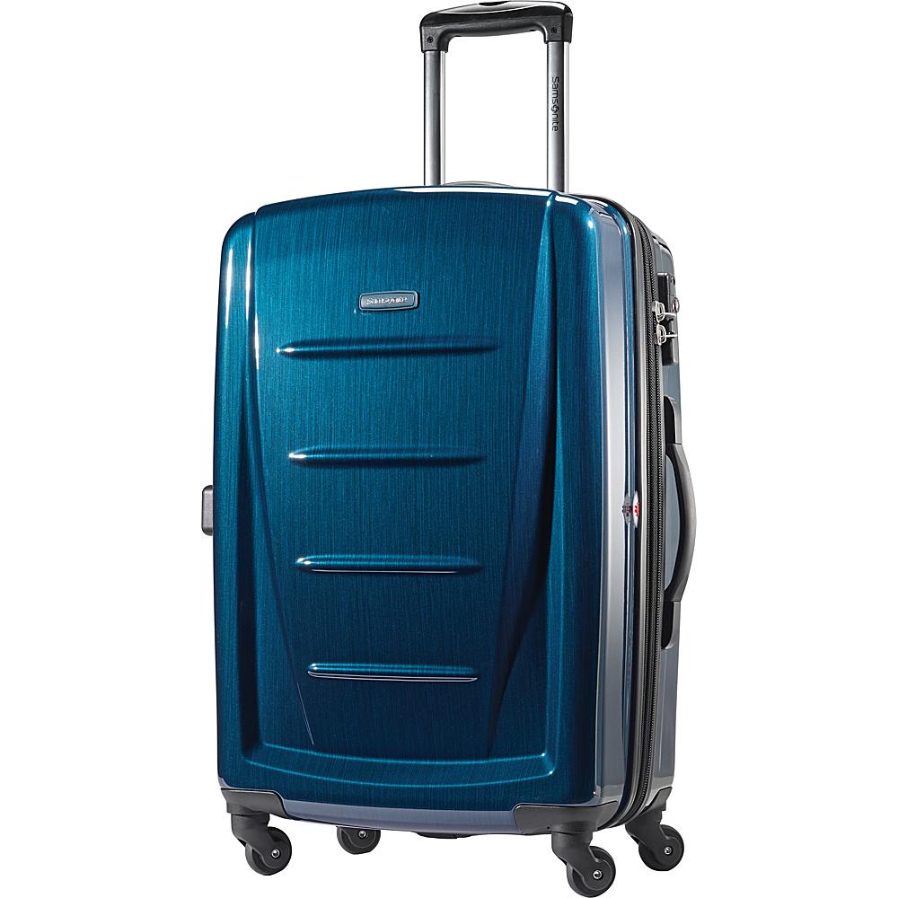 samsonite winfield 2 fashion hardside spinner luggage hardside checked new ebay. Black Bedroom Furniture Sets. Home Design Ideas