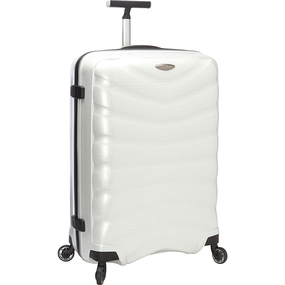 "Samsonite Black Label Firelite 28"" Hardside Spinner Luggage Off White - Samsonite Black Label Hardside Luggage"