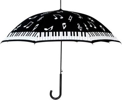 Leighton Umbrellas Milan black/white piano - Leighton Umbrellas Umbrellas and Rain Gear