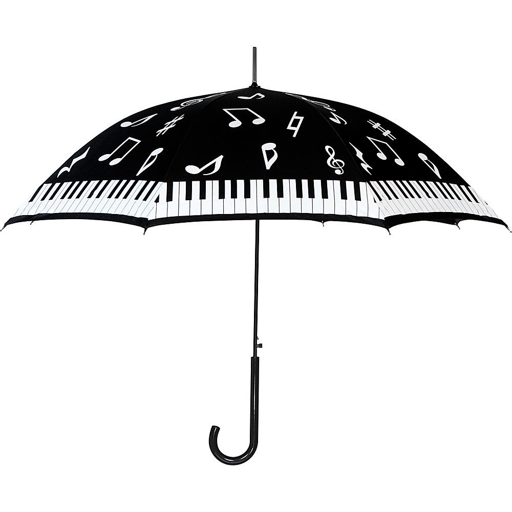 Leighton Umbrellas Milan black white piano Leighton Umbrellas Umbrellas and Rain Gear