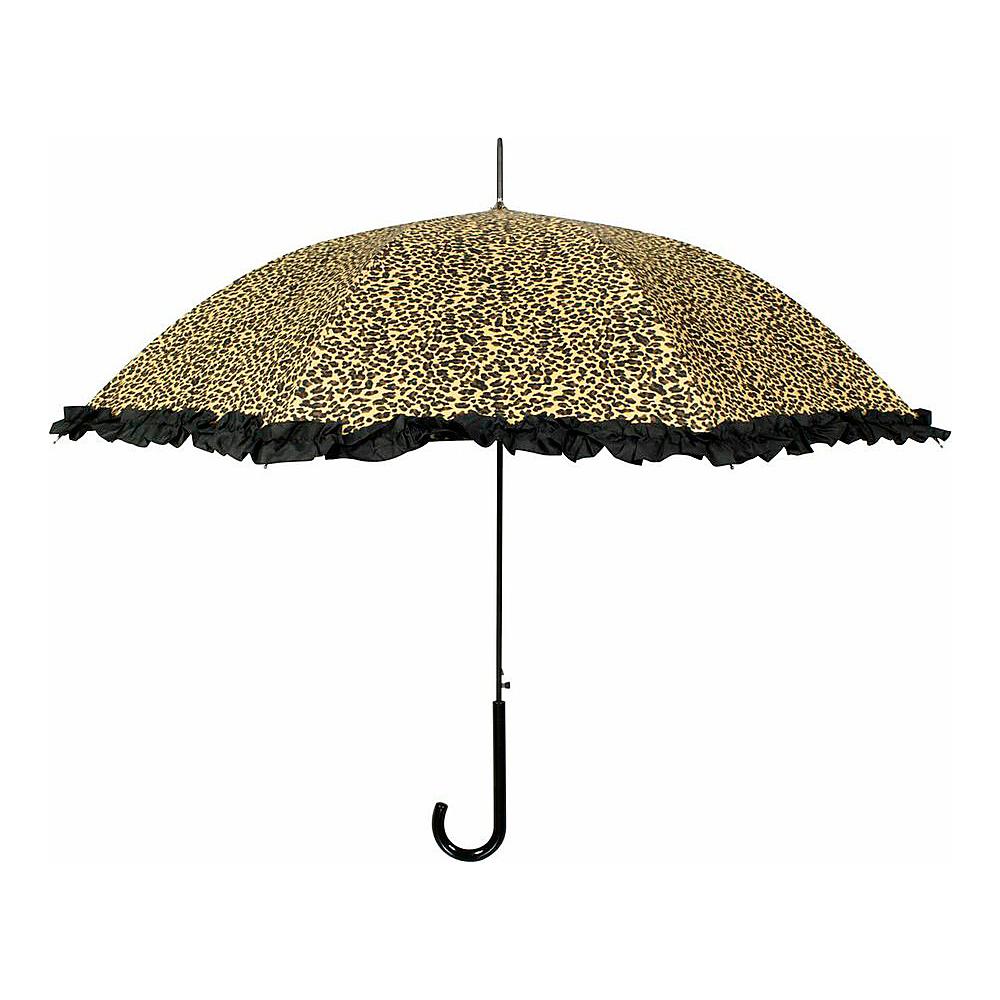 Leighton Umbrellas Milan cheetah Leighton Umbrellas Umbrellas and Rain Gear