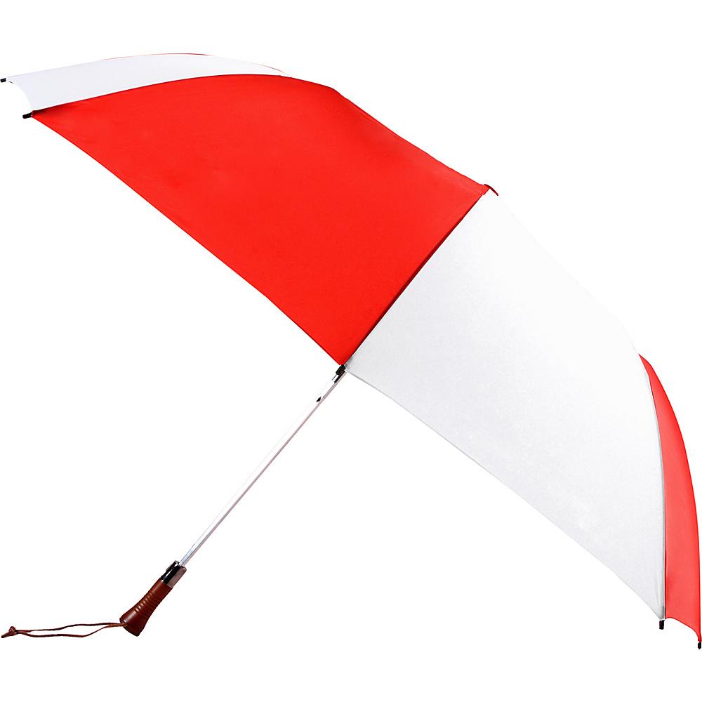 Rainkist Umbrellas VIP RED WHITE Rainkist Umbrellas Umbrellas and Rain Gear