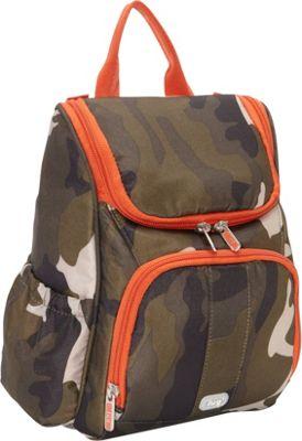 Lug Orange Label Collection - Caddy Vertical Toiletry Bag Camo Olive - Lug Toiletry Kits