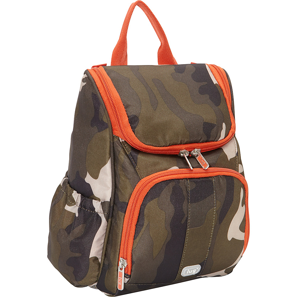 Lug Orange Label Collection Caddy Vertical Toiletry Bag Camo Olive Lug Toiletry Kits