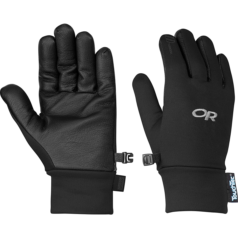 Outdoor Research Sensor Gloves Womens L - Black - Outdoor Research Hats/Gloves/Scarves - Fashion Accessories, Hats/Gloves/Scarves