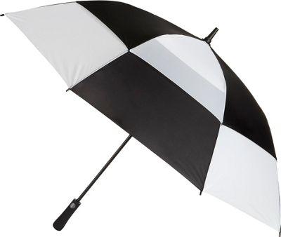 Totes Mulligan Umbrella Black/White - Totes Umbrellas and Rain Gear