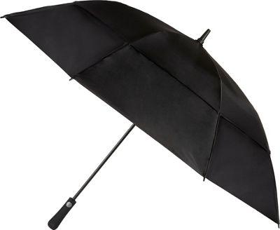 Totes Mulligan Umbrella Black - Totes Umbrellas and Rain Gear