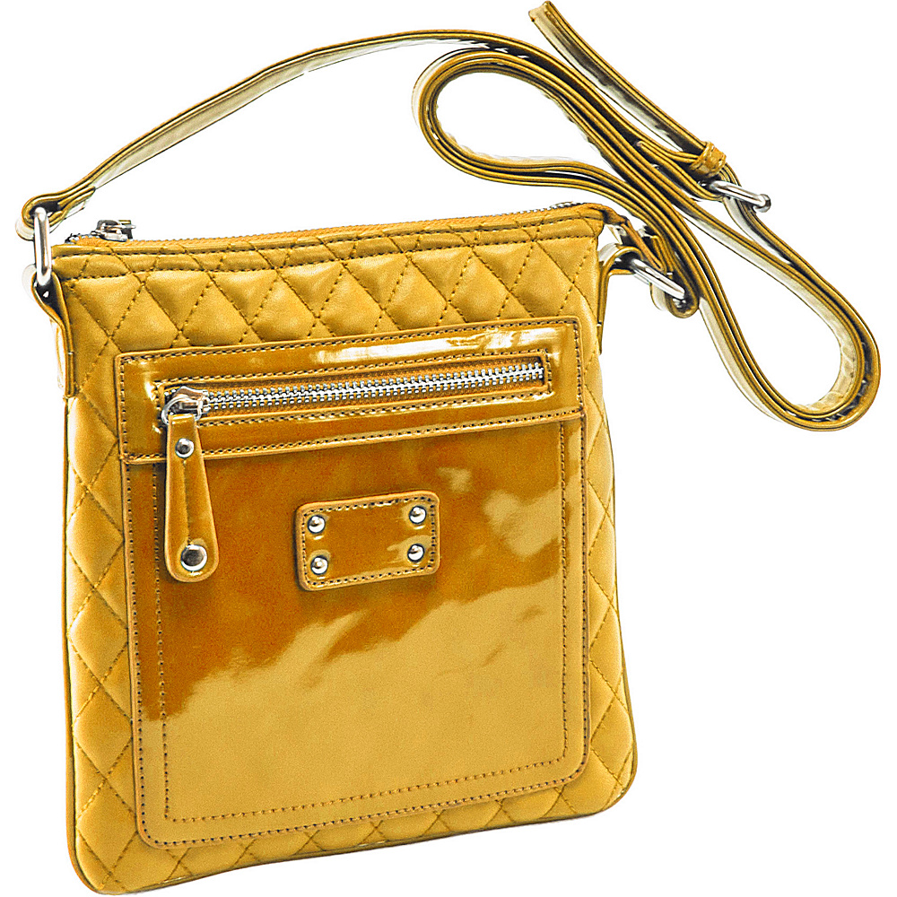 Parinda Emet Mustard Tan - Parinda Leather Handbags