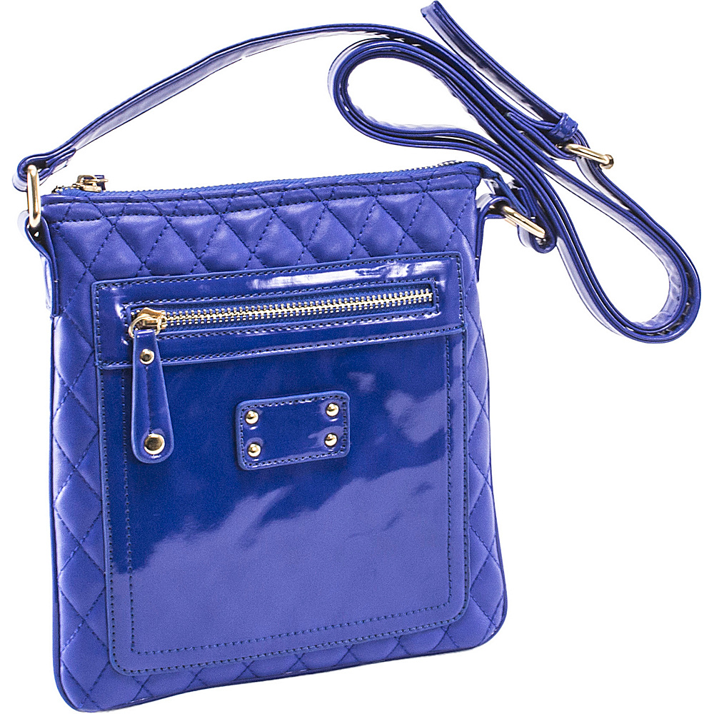 Parinda Emet Blue - Parinda Manmade Handbags