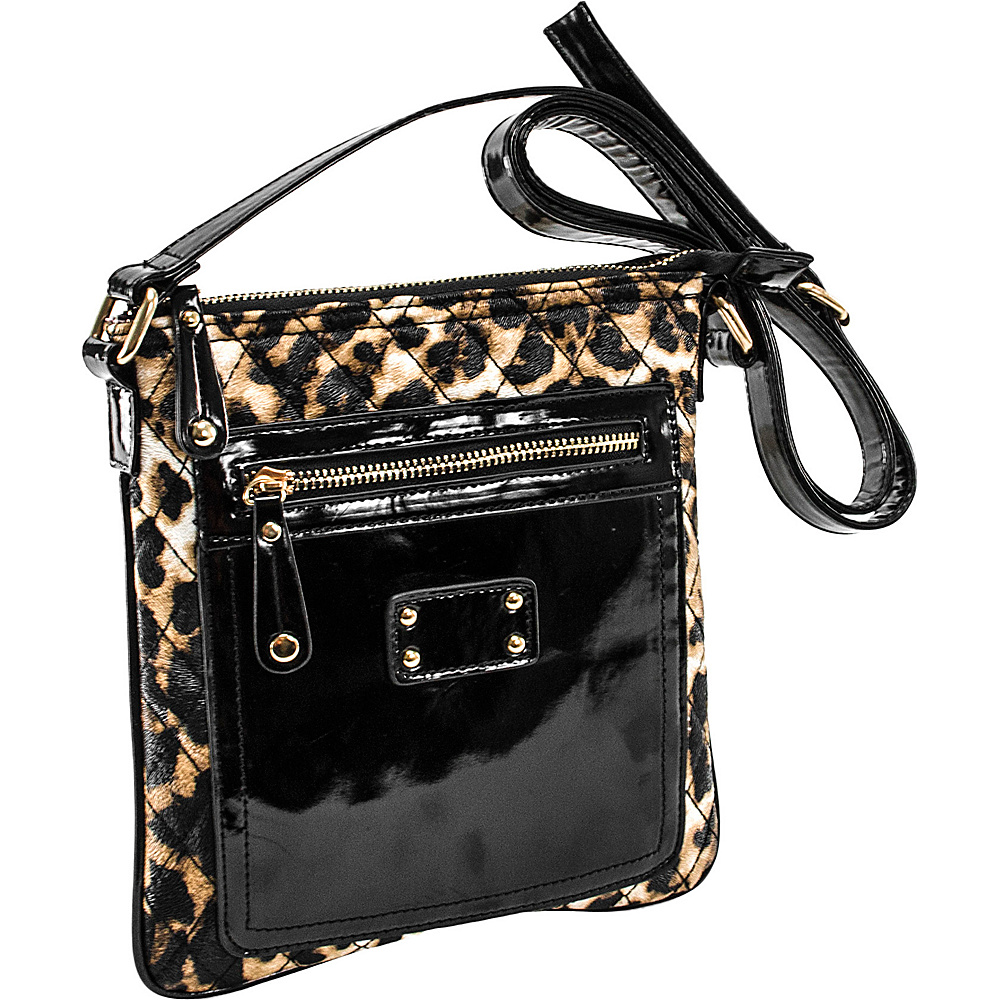 Parinda Emet Leopard - Parinda Leather Handbags
