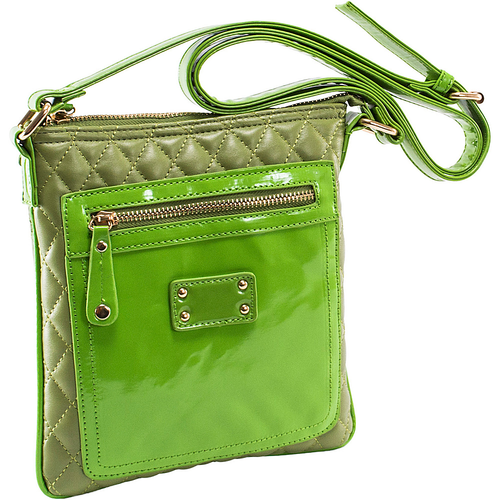 Parinda Emet Green - Parinda Manmade Handbags