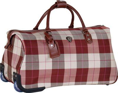 CalPak Chalet 21 inch Carry-On Duffle Mahogany - CalPak Travel Duffels