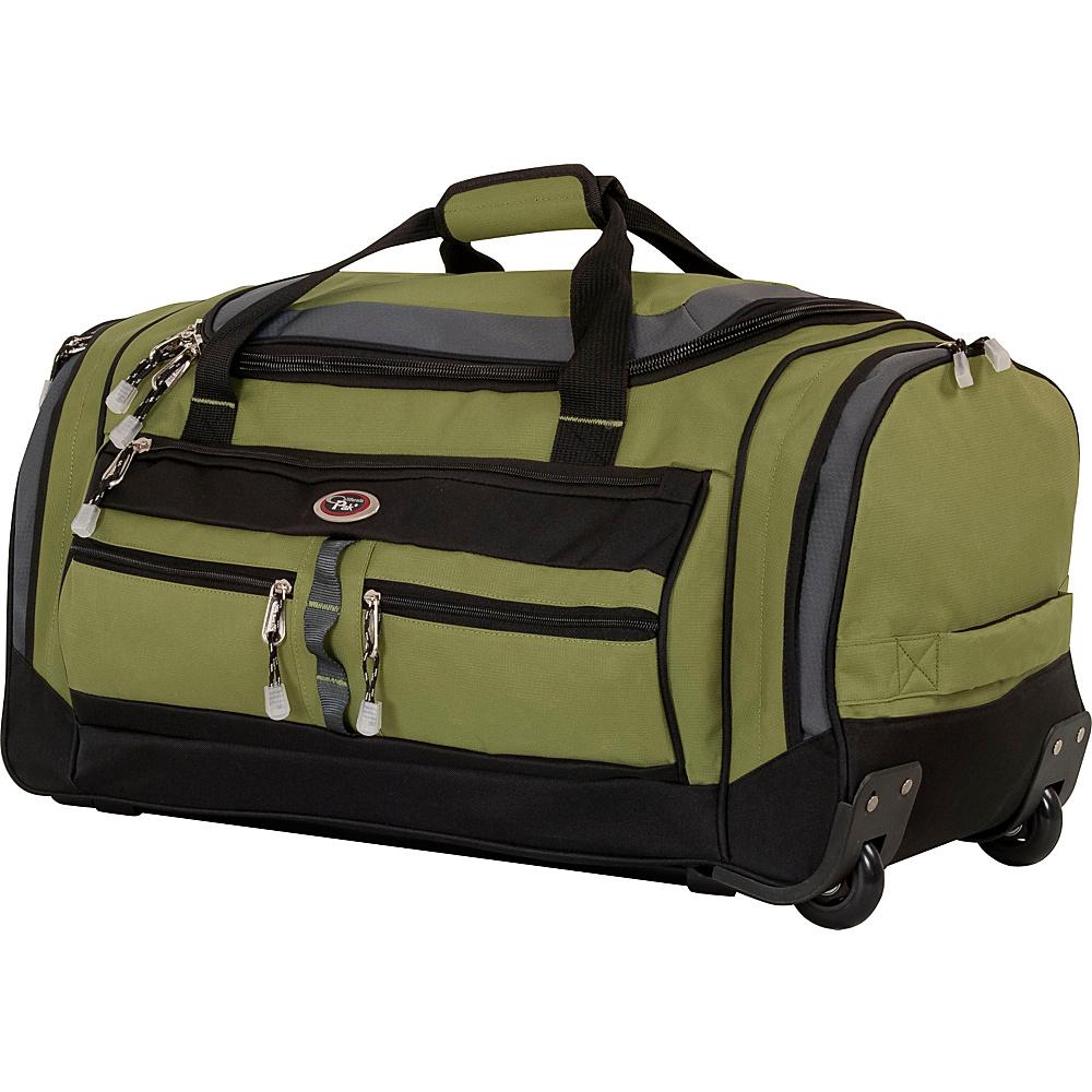 "CalPak Terminator 26"" Wheeled Duffle Lime Green - CalPak Travel Duffels"
