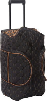cinda b Rolly 21 inch Carry-On Mod Tortoise - cinda b Softside Carry-On