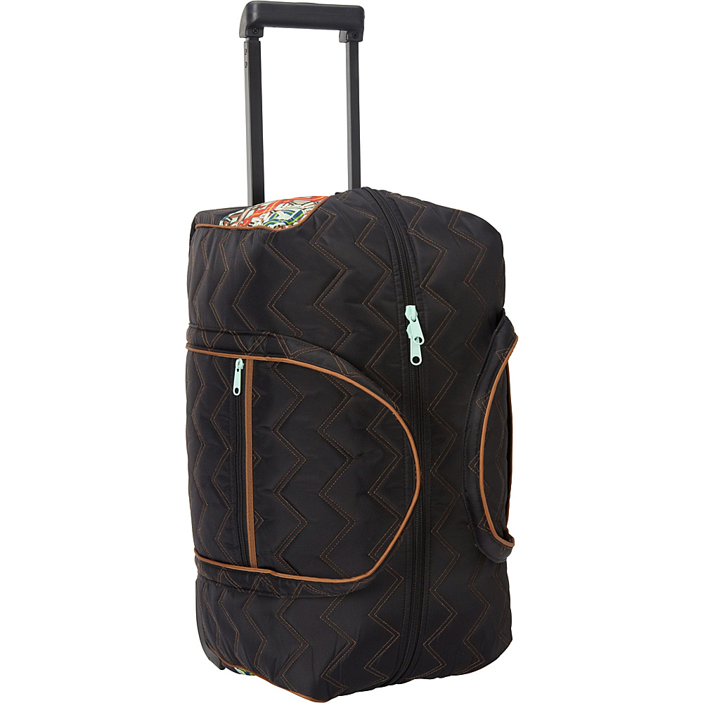 cinda b Rolly 21 Carry On Ravinia Black cinda b Softside Carry On