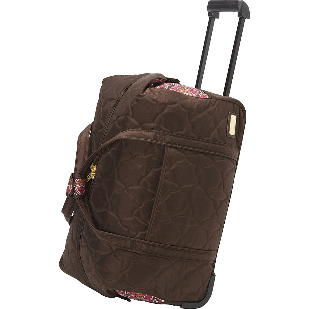 cinda b Rolly 21 Carry On Stained Glass cinda b Softside Carry On