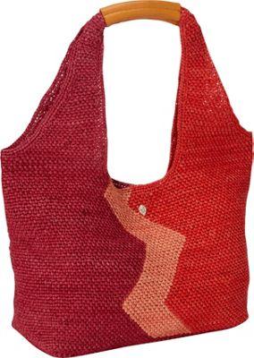 Helen Kaminski Pia Geo S Orchid/Rose/Flame - Helen Kaminski Designer Handbags