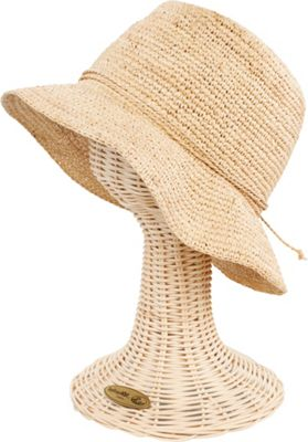 San Diego Hat Crochet Raffia Bucket One Size - Natural - San Diego Hat Hats/Gloves/Scarves