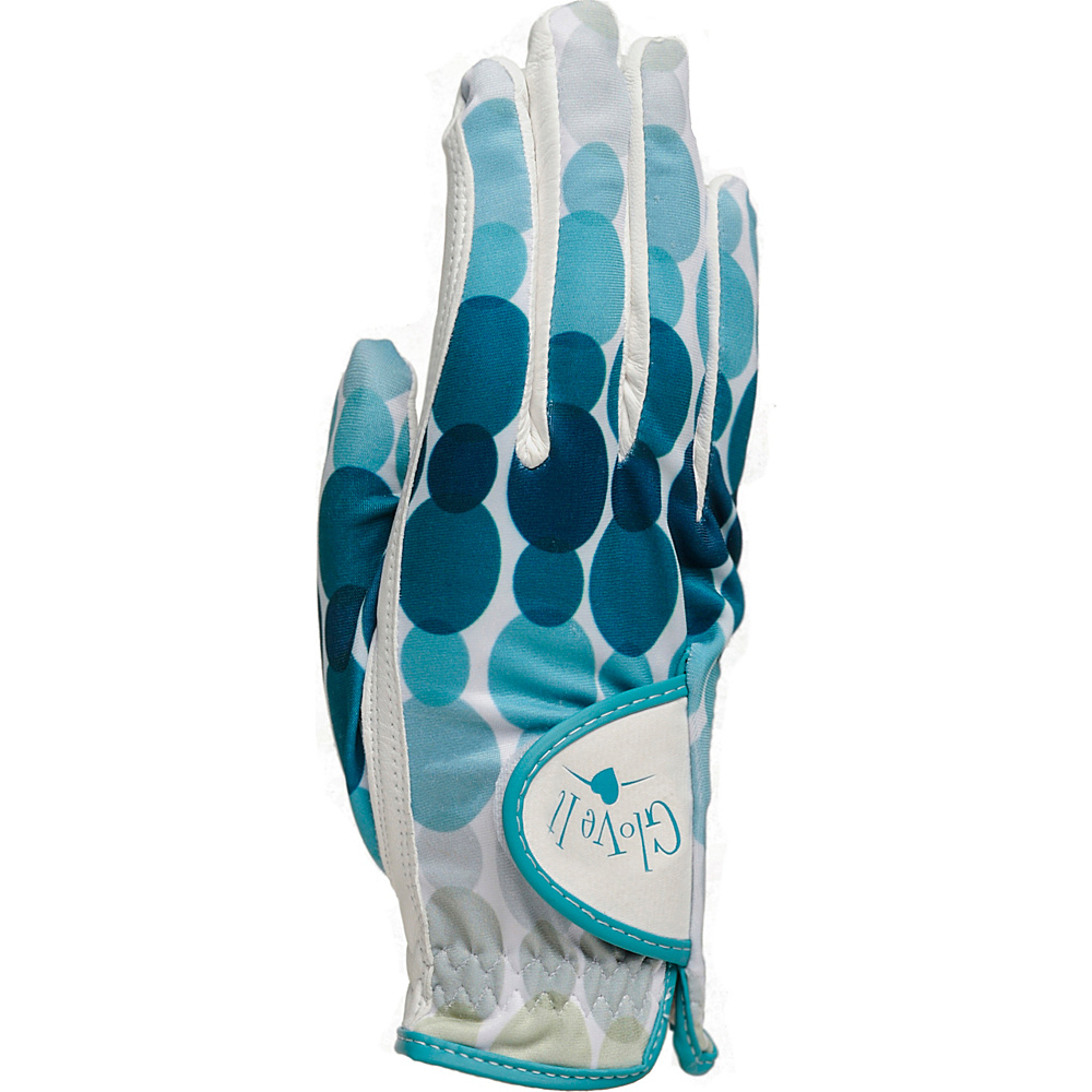 Glove It Trellis Golf Glove Aqua Rain Small Right Hand Glove It Sports Accessories