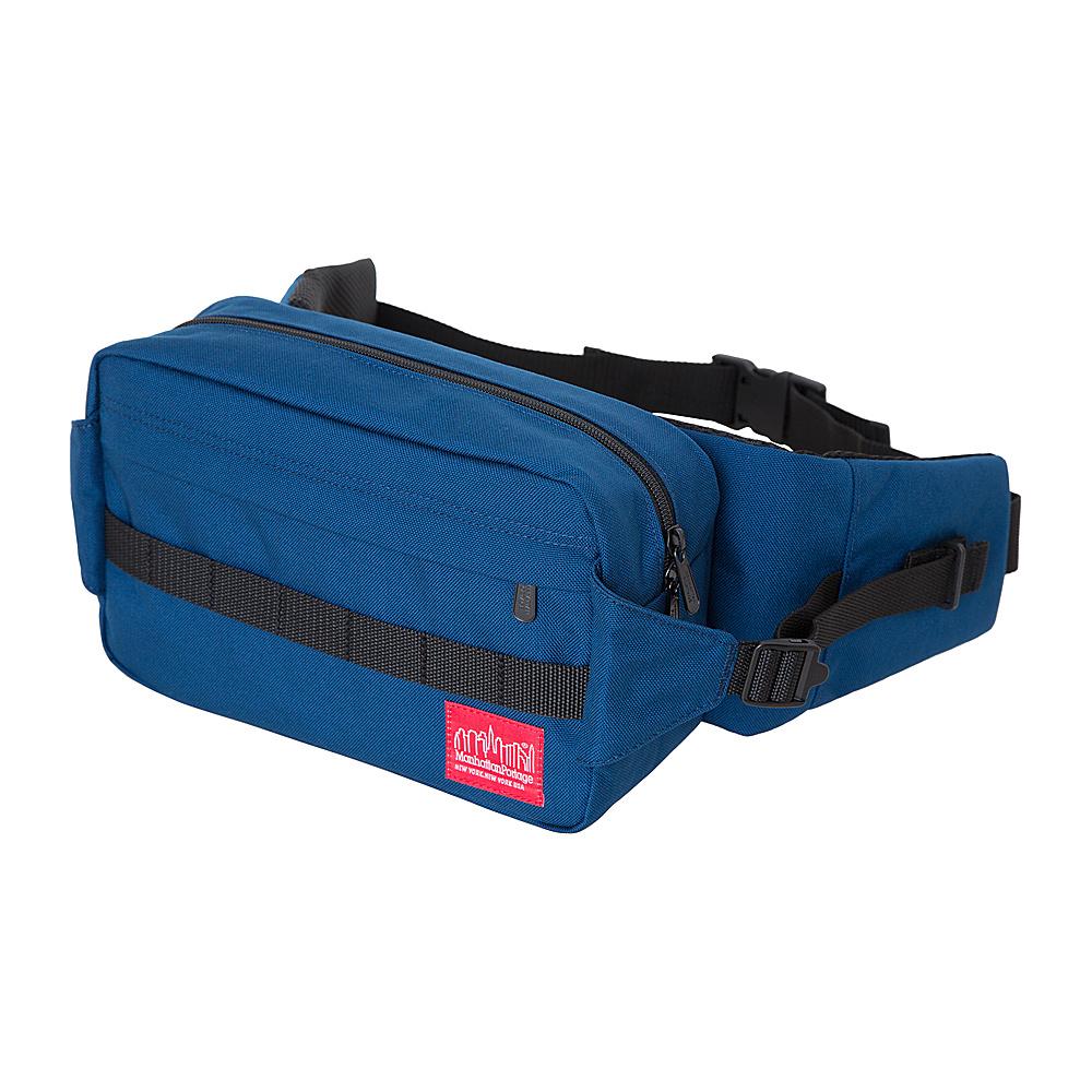 Manhattan Portage Spoke Waist Bag Navy - Manhattan Portage Waist Packs - Backpacks, Waist Packs