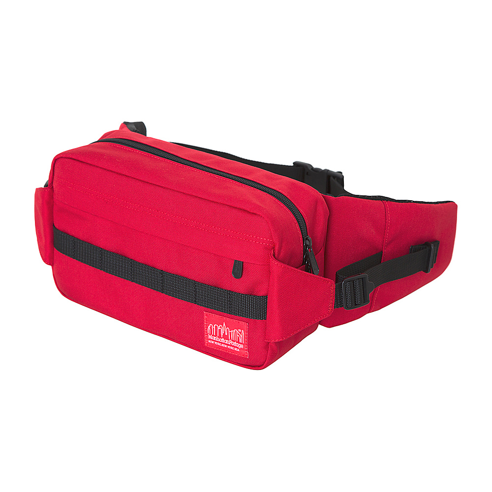 Manhattan Portage Spoke Waist Bag Red - Manhattan Portage Waist Packs - Backpacks, Waist Packs