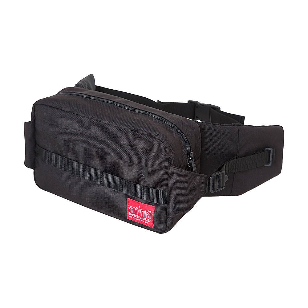 Manhattan Portage Spoke Waist Bag Black - Manhattan Portage Waist Packs - Backpacks, Waist Packs