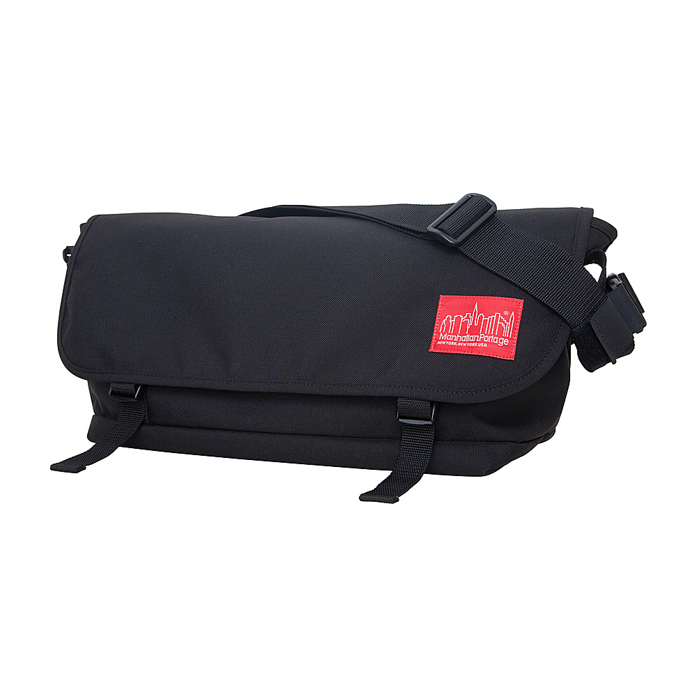 Manhattan Portage Straphanger Messenger (LG) Black - Manhattan Portage Messenger Bags - Work Bags & Briefcases, Messenger Bags