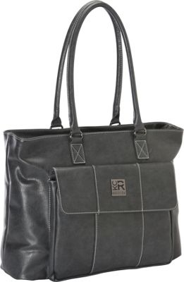 Kenneth Cole Reaction Let's Compare Laptop Totes Grey - Kenneth Cole Reaction Women's Business Bags