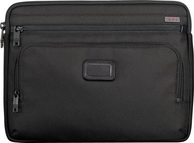 Tumi Alpha Medium Laptop Cover Black - Tumi Electronic Cases