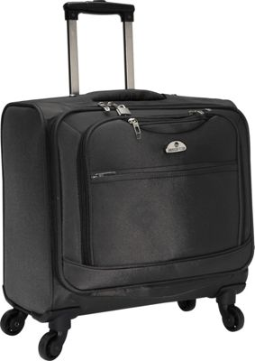 American Flyer South West 4-Wheel Professional Business Wheelies Black - American Flyer Wheeled Business Cases