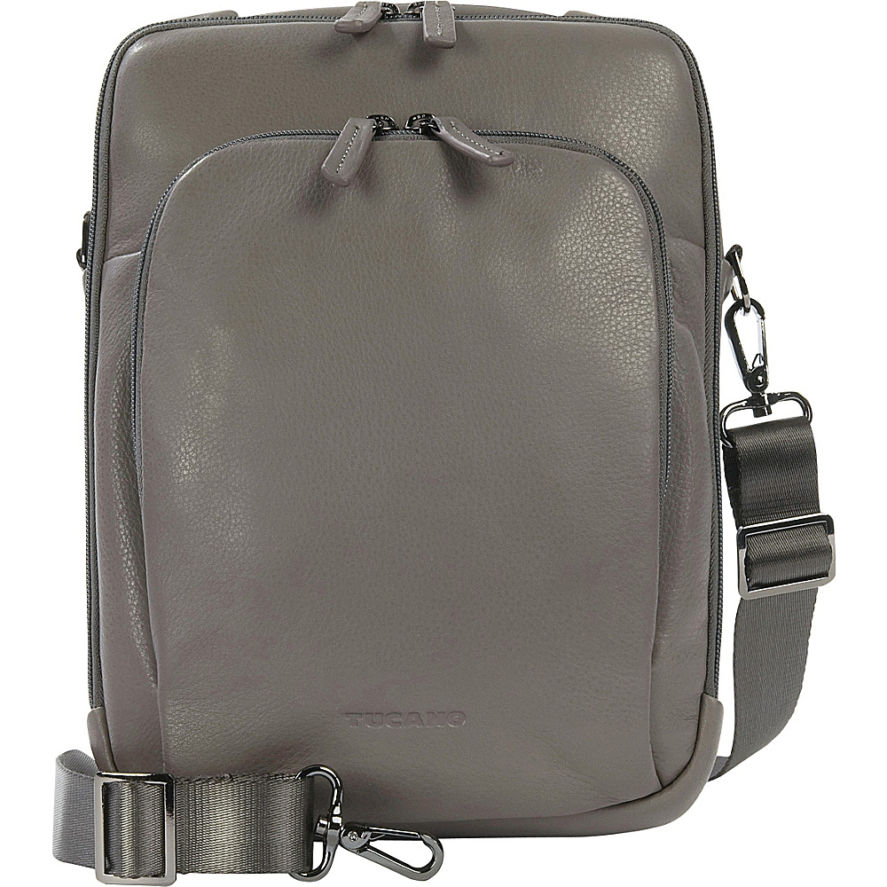 Tucano One Premium Tablet Shoulder Bag Grey Tucano Other Men s Bags