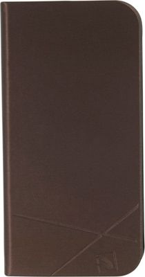 Tucano Filo iPhone SE/5/5s Booklet Cover Brown - Tucano Electronic Cases