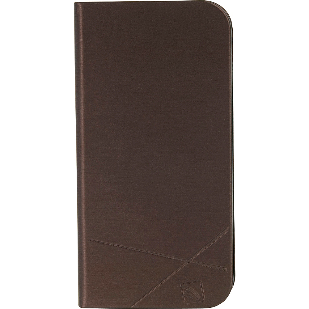 Tucano Filo iPhone SE 5 5s Booklet Cover Brown Tucano Electronic Cases