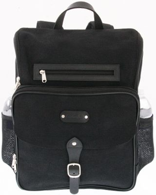 Leatherbay Leatherbay Trieste Laptop Backpack Black - Leatherbay Business & Laptop Backpacks