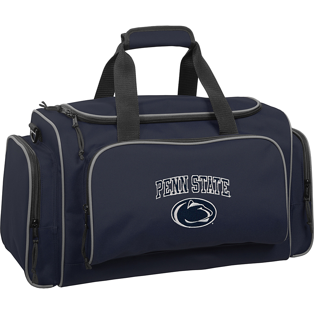 Wally Bags Penn State Nittany Lions 21 Collegiate Duffel Navy Wally Bags Rolling Duffels